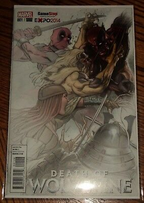 Death of Wolverine #1 NM  Gamestop EXPO 2014 Fade Variant Limited to 3000 copies