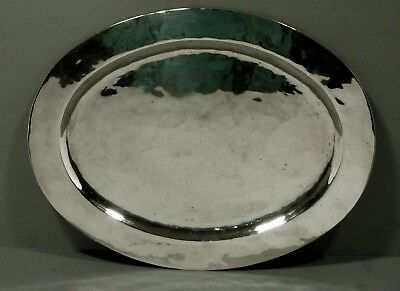 American Sterling Silver Tray     HAND WROUGHT