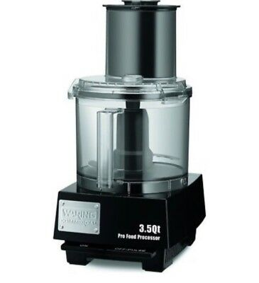 waring commercial food processor 3.5 qt