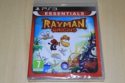 Rayman Origins  PS3 Playstation 3 UK Pal New Factory Sealed essentials