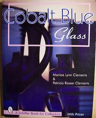 COBALT BLUE GLASS $$$ ID PRICE VALUE GUIDE COLLECTOR'S BOOK Vases bottle Jars