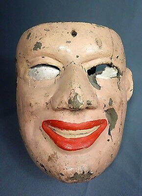 Woman Mask from Guatemala used in the Fieros Dance.