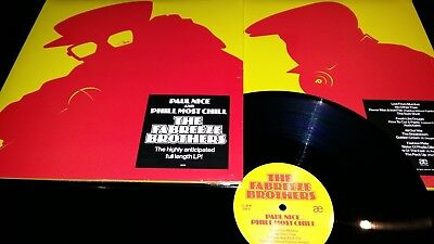 Fabreeze Brothers Lp - Paul Nice - Phill Most Chill - Hip Hop - Double Vinyl