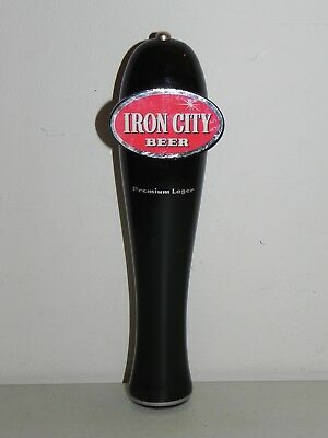 Pittsburgh Brewing Iron City Beer Tap Handle