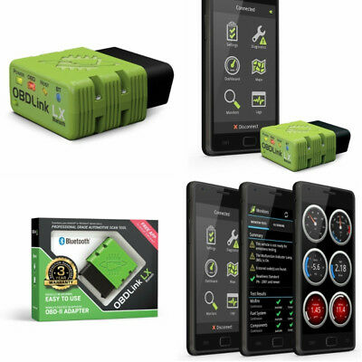ScanTool 427201 OBDLink LX Bluetooth Pro OBD-II Scan Tool for Android & Windows