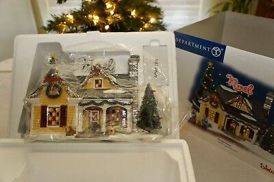 "Department 56 Snow Village ""THE NOEL HOUSE"" #56-55341 - ""BRAND NEW IN BOX"""