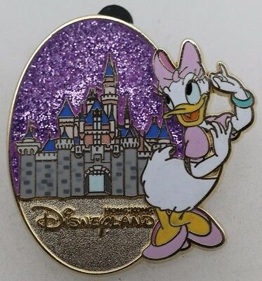 Disney Character and Castle Mystery Tin Collection Daisy Pin R1