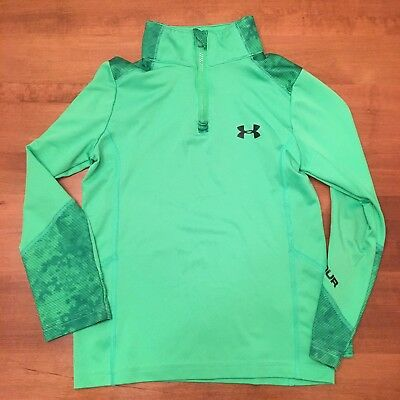 Under Armour Boys Pullover 1/4 Zip Size 5