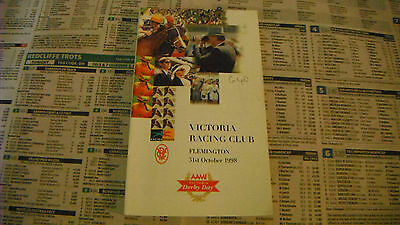 1998 Derby Day Race Book