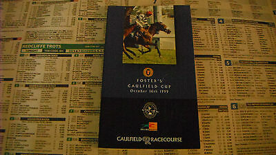 1999 Caulfield Cup Race Book