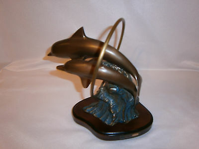 Vintage Bronze Collection, Dolphin Statue