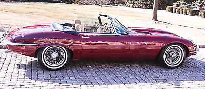 1972 Jaguar XK  1972 Jaguar XKE Convertible - Only 24,000 original miles