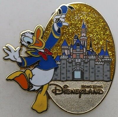Disney Character and Castle Mystery Tin Collection Donald Duck Pin R1