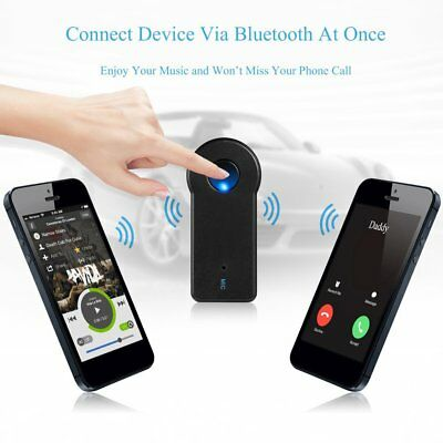 Bluetooth Music Audio Stereo Adapter Receiver for Car AUX IN Home Speaker MP3 TF