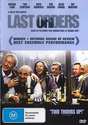 LAST ORDERS - Michael Caine -  COMEDY / Drama - NEW DVD