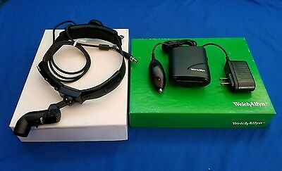 Welch Allyn Solid State Procedure Headlight 49020 With Power Source - NEW!!