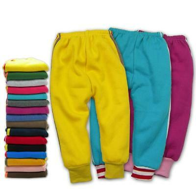 Baby Kids Children Boy Girl Clothes Fleece Inner Pants Trousers Bottoms 1-7 year