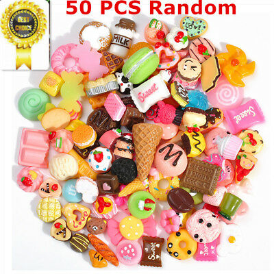 50PCS Fast food&Rilakkuma Squishy Charms Squeeze Slow Rising Toy Gift Dulcet LOT