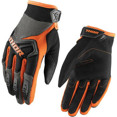 Thor Spectrum S18 Kinder Motocross Handschuhe Orange Grau Cross Offroad Enduro