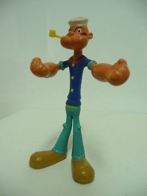 Vintage 1970s Popeye the Sailor Man Rubber Bendy Toy,