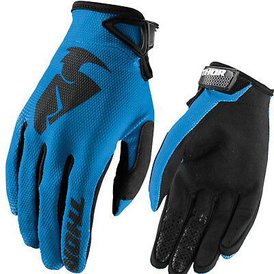 Thor Sector Motocross Kinder Handschuhe Blau Cross Offroad Enduro Quad Mx Sx Atv