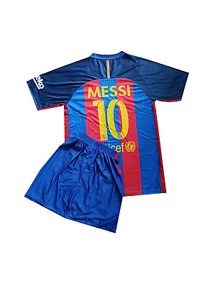 Messi Football  shirt jersey Barcelona home 2016-2017  kit for kids