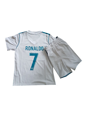 Ronaldo Football  shirt jersey Real Madrid home 2017-2018  kit for kids