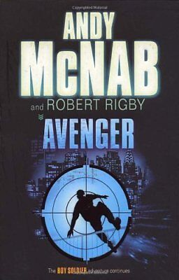 BOOK-Avenger (Boy Soldier),Andy McNab, Robert Rigby