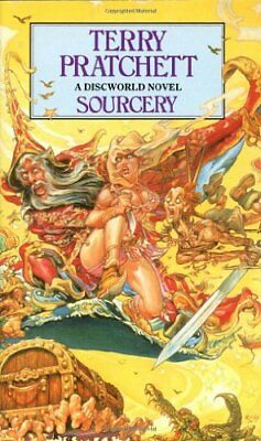 BOOK-Sourcery: (Discworld Novel 5) (Discworld Novels),Terry Pratchett