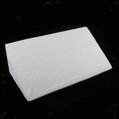 2 Acid Reflux Foam Bed Wedge Pillow Elevation Cushion Lumbar Support white