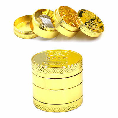 ToTobacco Herb Spice Grinder 4 Pieces Herbal Alloy Smoke Metal Chromium Crusher