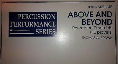 Above and Beyond Th. Brown f. Percussion Ensemble 10 Spieler