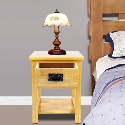 Oak Nightstand Side Table /Solid Wood Lamp Table /Brand New /Small Coffee Table