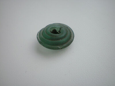 Rare Ancient Viking Glass Decoration Bead ca 7 - 9 century AD № 6