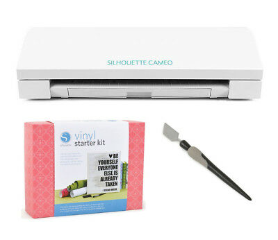 NEW Silhouette CAMEO Cutting Machine + FREE Vinyl Starter Kit + FREE Spatula!!!