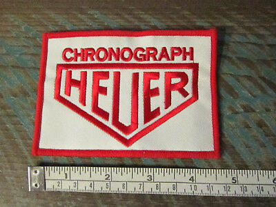 VINTAGE STYLE TAG HEUER CHRONGRAPH RACING PATCH LEMANS STEVE McQUEEN PORSCHE F1