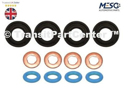 GENUINE FORD FUEL INJECTOR LEAK OFF PIPE O RING SEAL TRANSIT MK7 2.2 CR TC I4