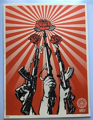 OBEY / Shepard Fairey: Guns'n Roses print signed