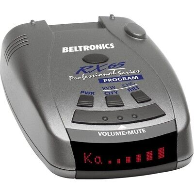 """Black Friday Sale"" Beltronics RX65-Red Professional Series Radar Detector"