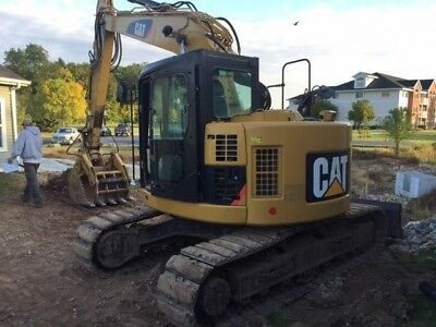 2013 Caterpillar 314D Lcr Hydraulic Excavator Cat 314