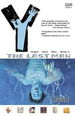 Vertigo Sci-Fi Comic Y - The Last Man Vol 4 - Safeword SC NM