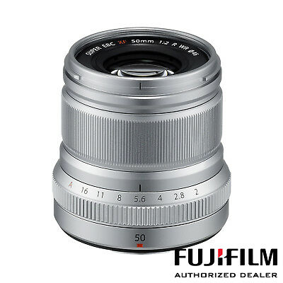 Fujifilm XF 50mm f/2 R WR Lens (Silver) ***USA AUTHORIZED***