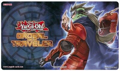 Yu-Gi-Oh! Ordeal Of A Traveler 2017 Playmat /Secret Skills of the Samurai SEALED