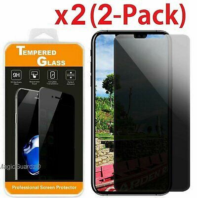 2X HD Privacy Anti-Spy Tempered Glass Screen Protector for iPhone X