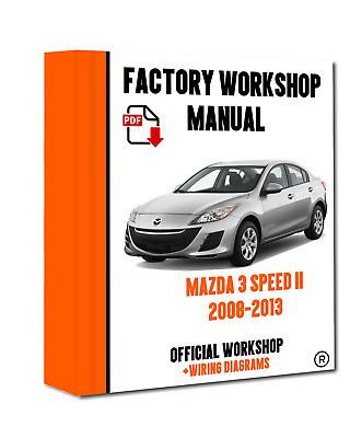 2008 mazdaspeed 3 maintenance manual