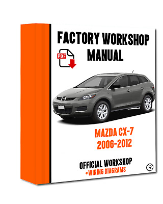 2007 MAZDA CX-7 Factory Service Repair Manual / Workshop ... on mazda protege trunk wiring, 1991 mazda protege wiring, 1997 mazda millenia bose amp wiring,