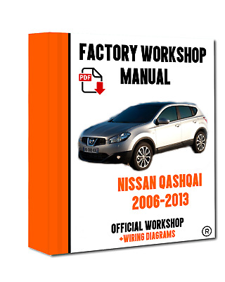 Official workshop service repair manual for nissan qashqai 2006 2013 official workshop manual service repair nissan qashqai 2006 2013 asfbconference2016 Images