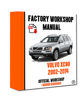 VOLVO XC90 REPAIR Manual Haynes Workshop Service Manual