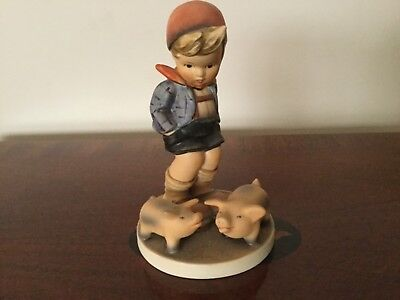 "Hummel Goebel Figurine ""FARM BOY"" 5-1/2"" Tall  #66 No Box"