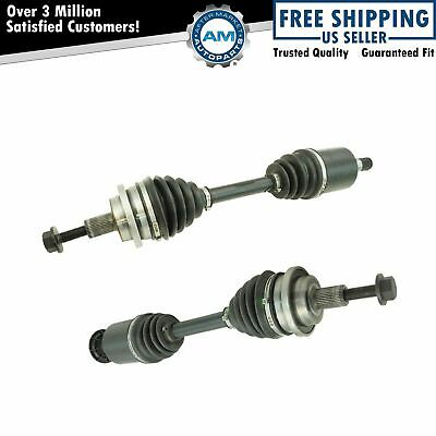 Front CV Axle Shaft Assembly LH RH Pair 2pc for E320 E350 E500 E550 4Matic